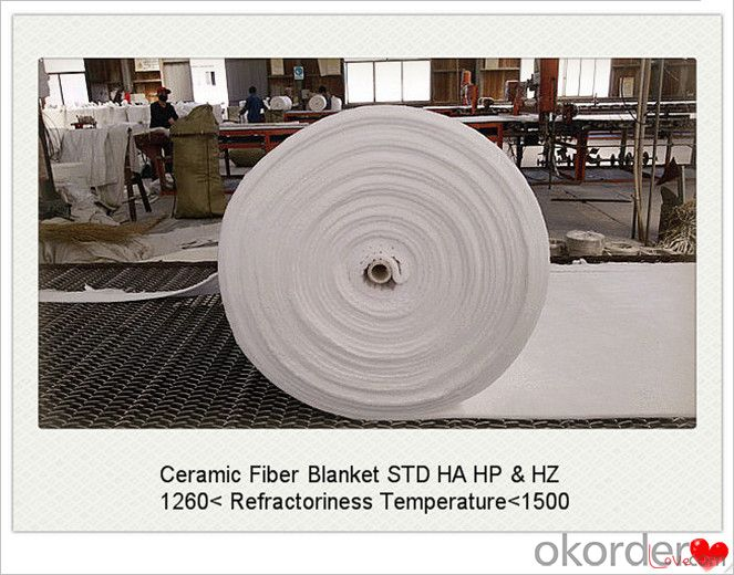 Thermal Insuation Ceramic Fiber Blanket for Iron Making Furnaces Made In China