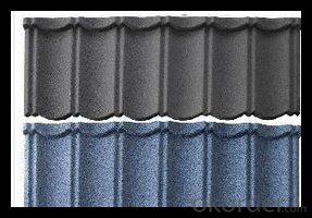 Stone Coated Metal Roofing Sheet for Construction