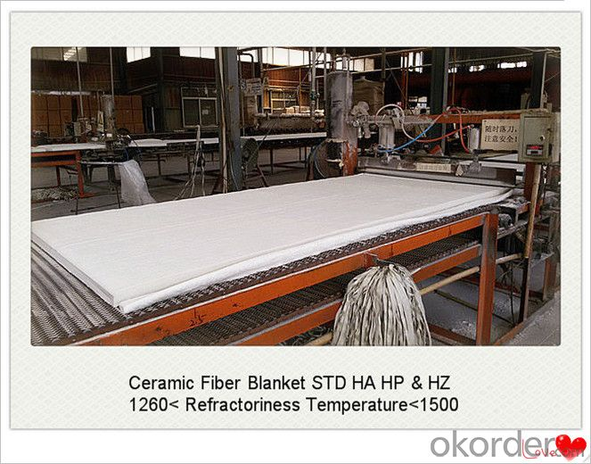 Thickness 6mm Ceramic Fiber Blanket for Cement Kiln Made In China