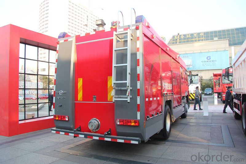 Sinotruk HOWO 4*2 Water and Foam Fire Truck (7000/8000L)