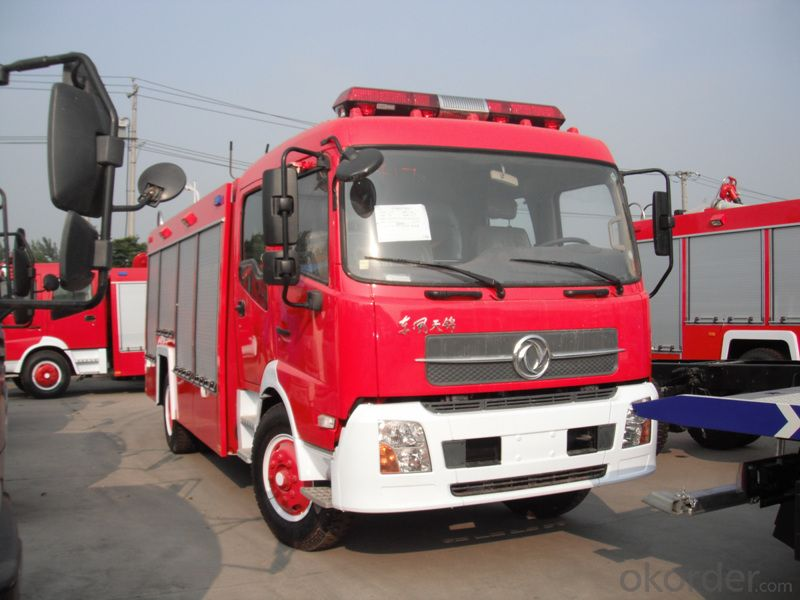 Fire Fighting Truck HOWO 6X4 City Water Tank