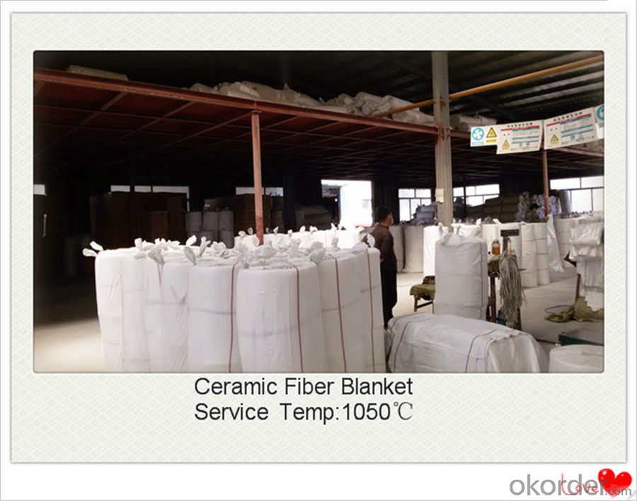 Ceramic Fiber Blanket With ISO CE Certificate for EAF Made In China