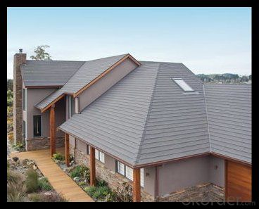 Stone Coated Roof Sheet with Easy Installed