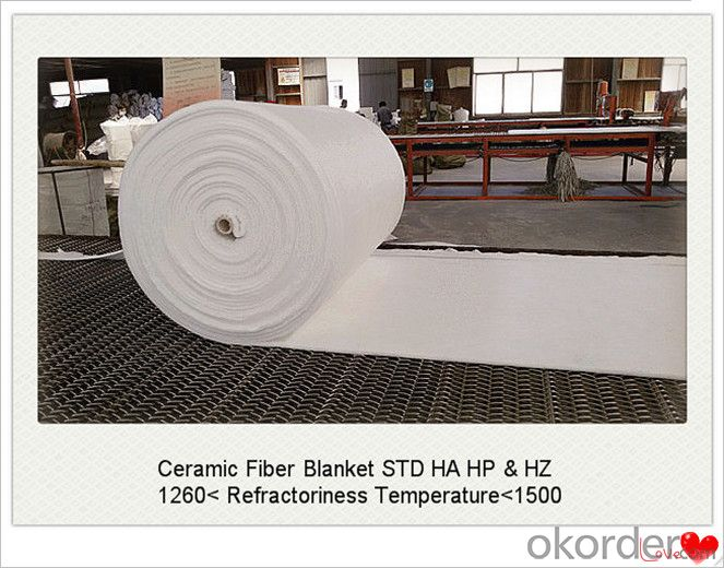 1260 Ceramic Fiber Blanket with CE Certificate for Steel Furnaces Made In China