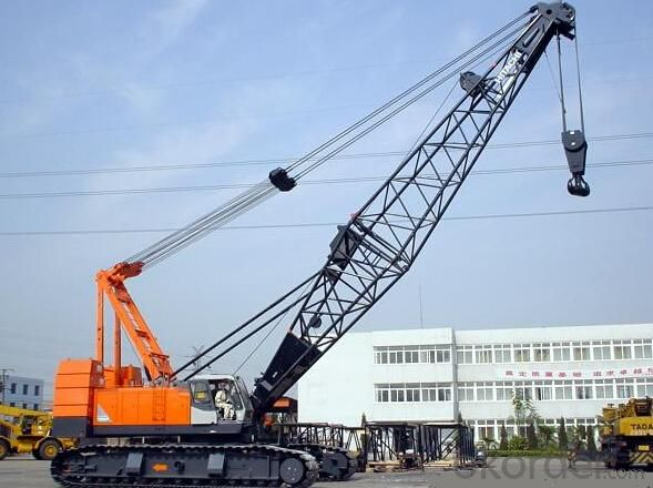 Crawler Crane Electric Cranes with Model of QUY70