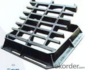 Manhole Cover Cast Iron D400 600mm Double Triangle