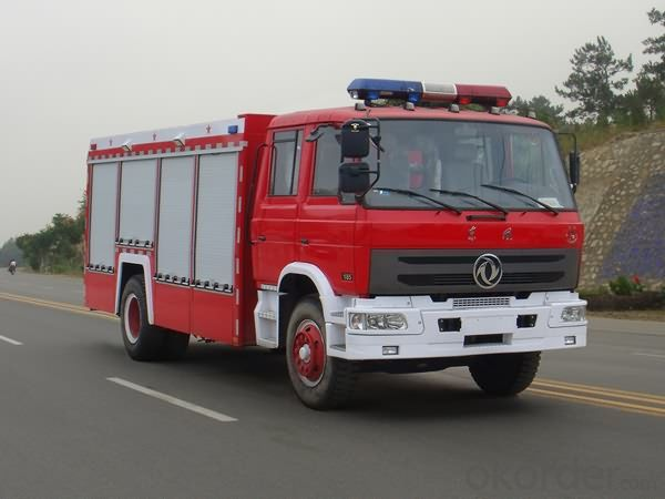 Fire Truck 6000L Dongfeng 4X2