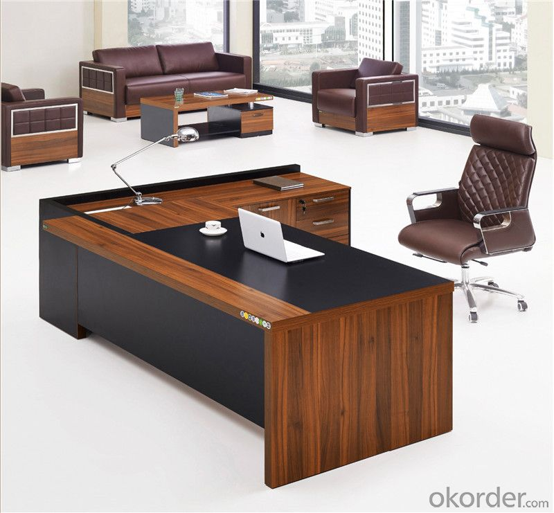 Office Desk Furniture for Employee MDF Material
