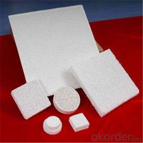 Alumina Ceramic Foam Filter 7