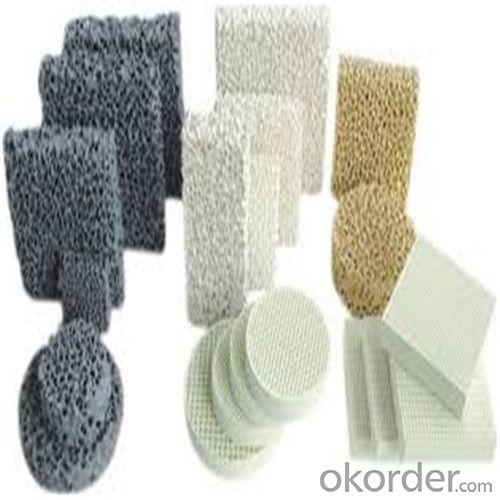 Zirconia/Alumina Ceramic Foam Filter for Iron Foundry