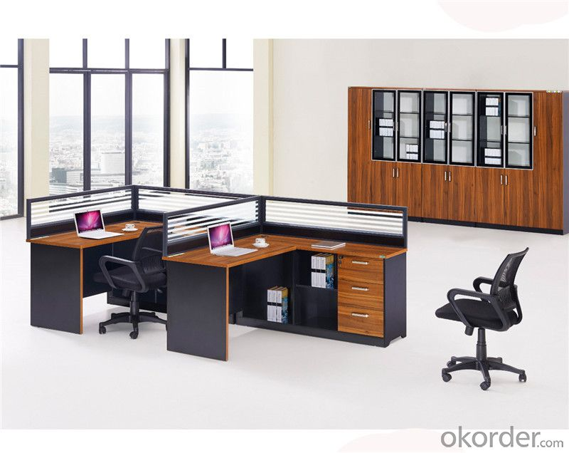 Two Seaters Office Workstation Furniture for Staff