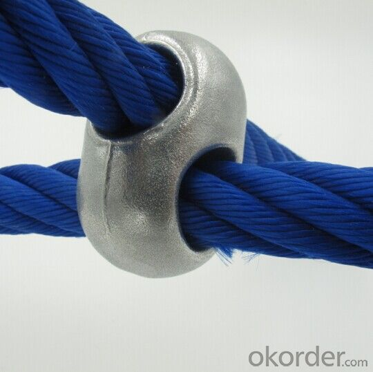 Children Climbing Net Rope Cross Connector Accessories Wire Rope Connection Aluminum buckle