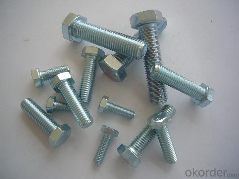 Bolt Carbon Steel Full Thread M8*130 Low Price