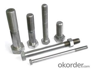 Bolt CARBON STEEL HALF THREAD M8*120 On Sale