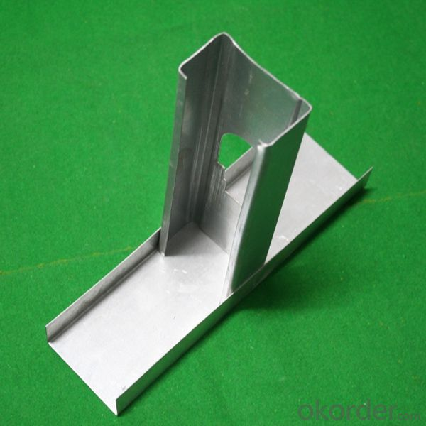 Steel Channel Track and Stud For Gypsum Board Partition