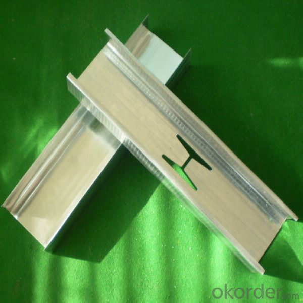 Stud and Track Galvanized Structural Steel Profiles From China