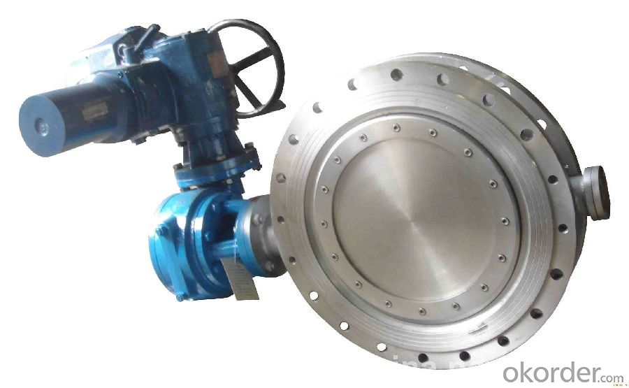 Butterfly Valves Ductile Iron Cast Iron Wafer Type DN820