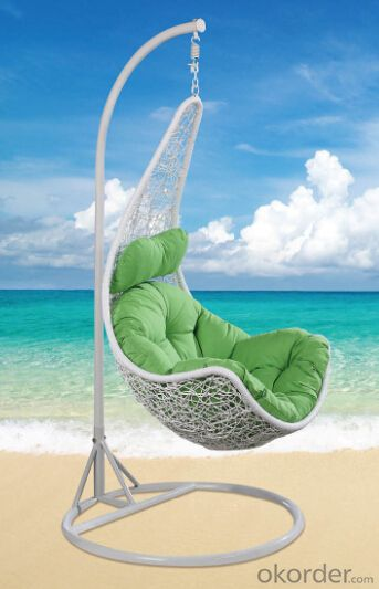 Swing Chair Garden Helicopter - Cream Outdoor