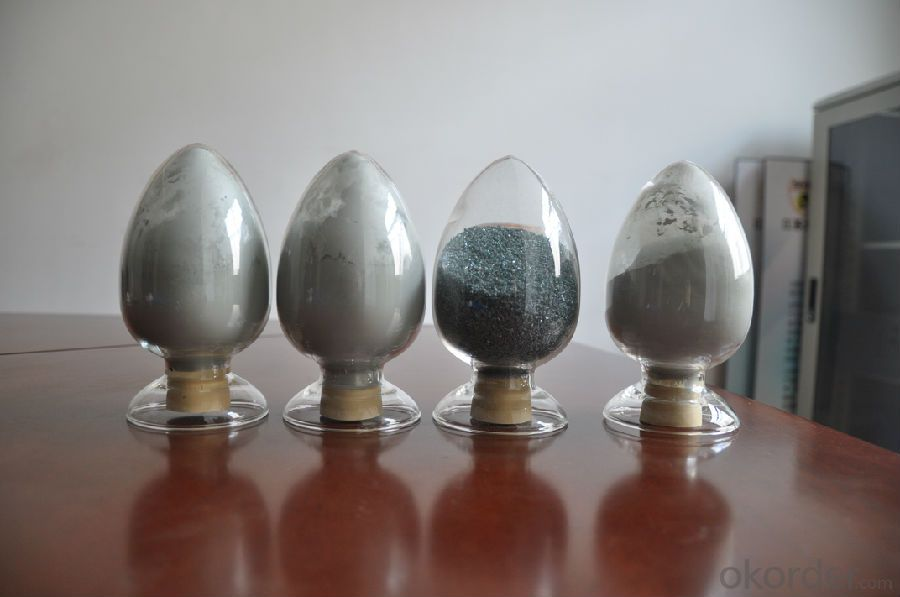 Green Silicon Carbide with SiC 99% Min of CNBM in China