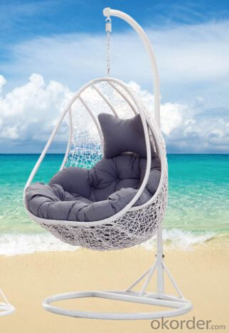 Swing Chair Garden Helicopter - Cream Outdoor