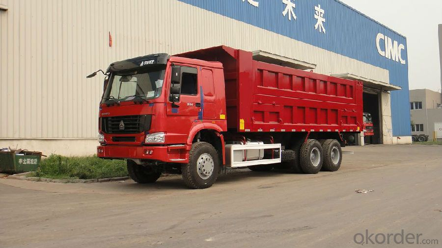 Dump Truck Hot Sale Camc 6*4  with Cummins Engine 375HP