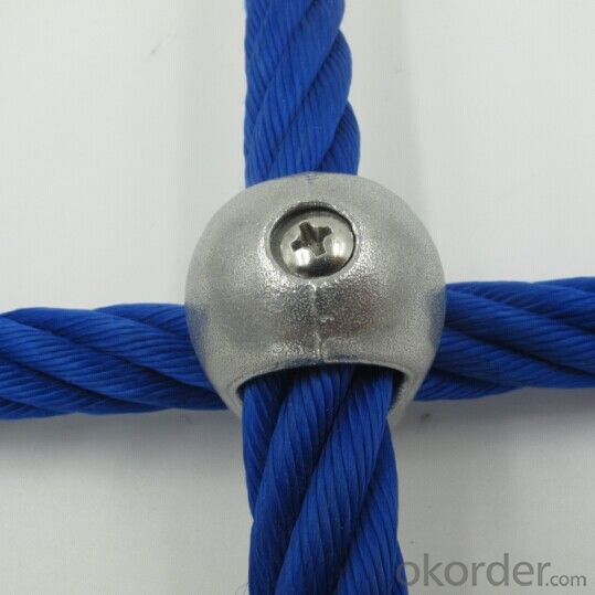 Climbing Rope Cross Fastener Connecting Buckle Children Climbing Net Rope Connector Accessories