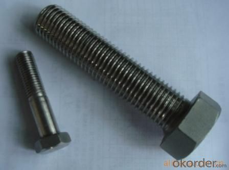Bolt HALF THREAD M6*50 HEX Made in China