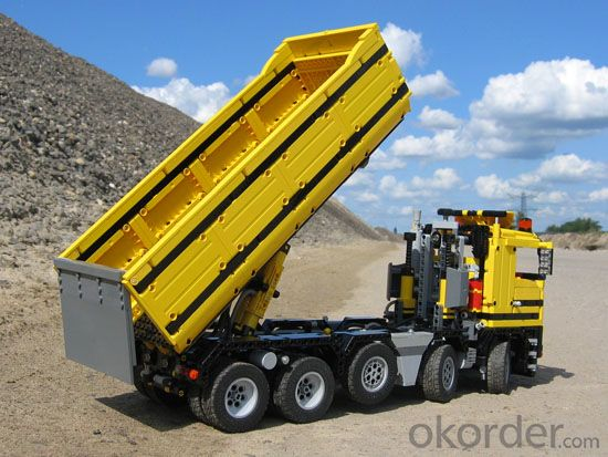 Mining Dumper Truck HOWO 6X4 371HP 60ton