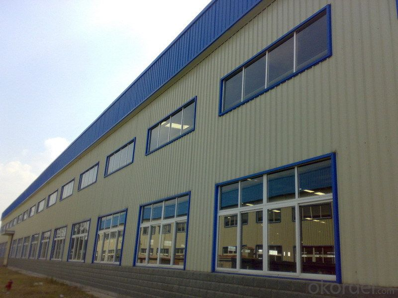 Sandwich Panel House with Large Span for Sale