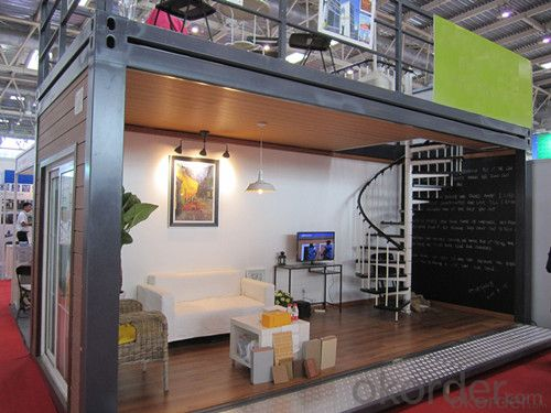 Container House Made of Sandwich Pannel