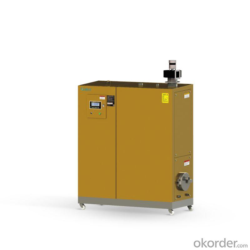 Horizontal Full-time Cyclone Hot-water Bio-boiler Applied Fuel:Wood Pellets 6-8mm