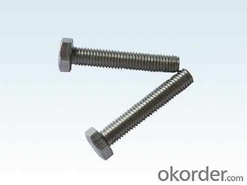 Bolt DIN933 FULL THREAD M6*16 HEX  Made in China