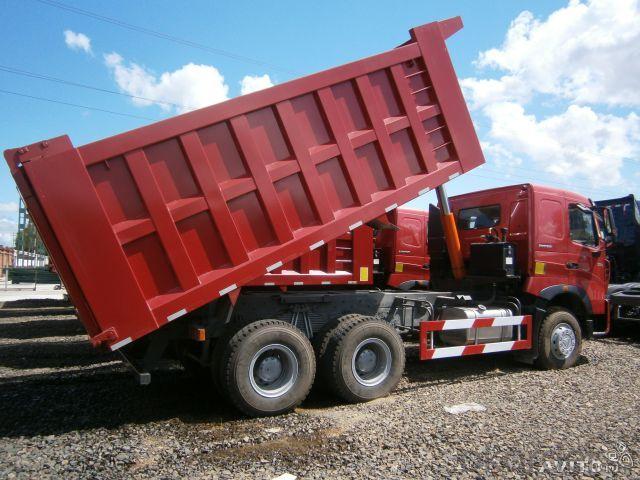 Dump Truck  4.6m  HOWO 4*2  LHD Drive