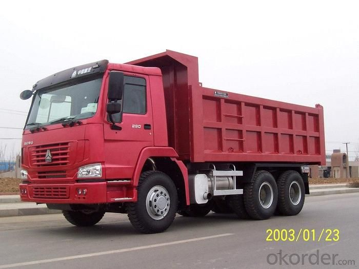 Dump Truck HOWO 6X4 25 Ton New Design U Type
