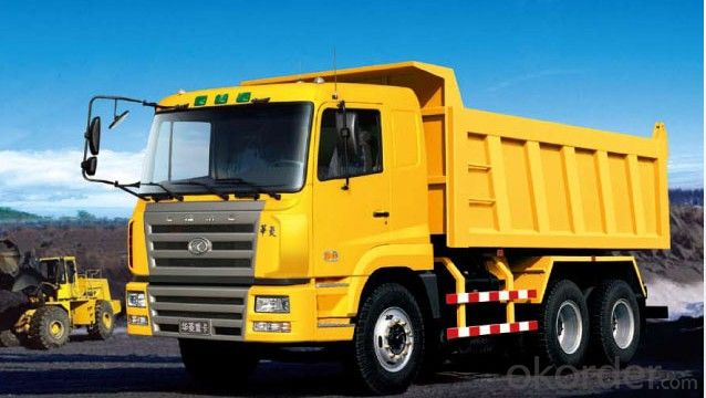 Hydraulic Dump & Tipper Semi Trailer Truck