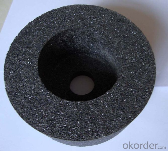 Metal bond diamond grinding wheel for glass