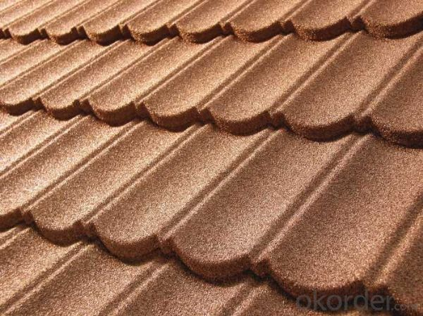 Waves Classical Stone Coated Metal Roofing Tile