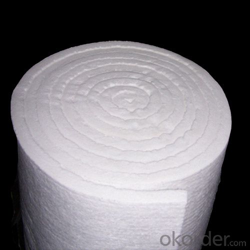 Ceramic Fiber Blanket 1260℃ For High Temperature Best Quality 80kg/m3 96kg/m3 160kg/m3