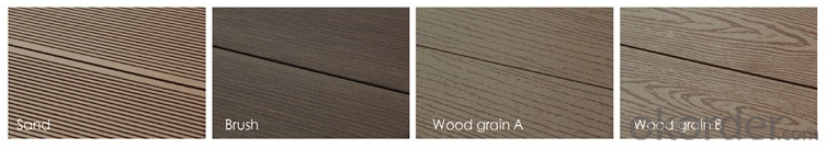 Wood Plastic Composite Outdoor Decking/Hollow decking/100*25/RMD-59