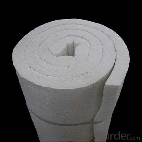 1260oC Ceramic Fiber Blanket with Good Thermal Insulation Characteristics