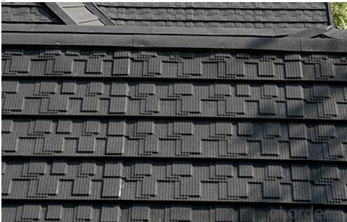 Anti-fade Stone Coated Metal Roof Tile Sheet