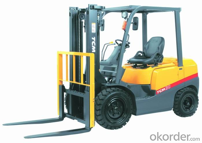 Forklift Truck 2.5ton Gasoline & LPG   with CE