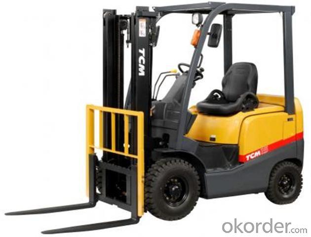 Diesel Forklift Truck with Isuzu 6bg1 Diesel Engine