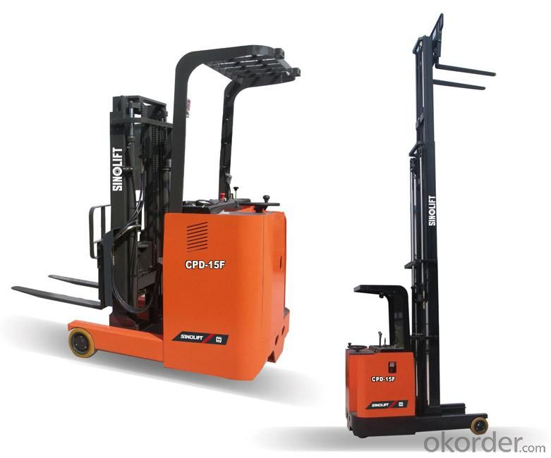 Electric Forklift Truck  CE Approval 1.6 Tons  (CDD16)