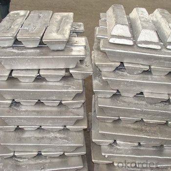 Aluminum Pig/Ingot 2015 Hot Sale Products