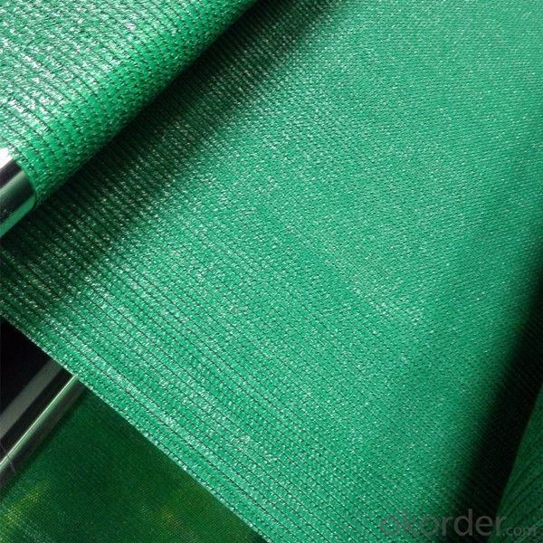 Green Sun Shade Net fabric for Sun Protection