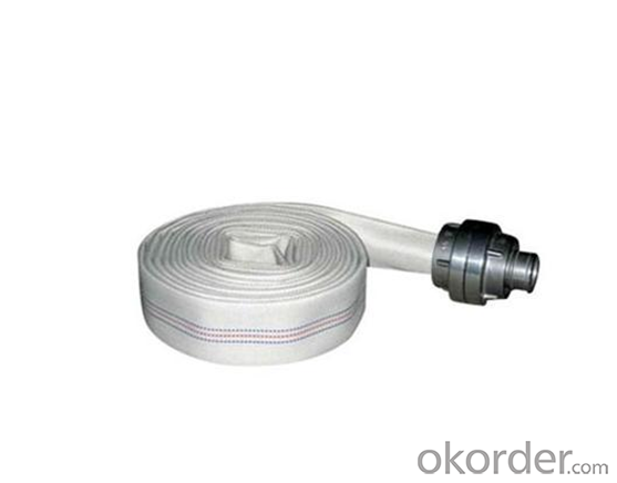 Fire Safety Product/PVC Lined Fire Hose C/W Different Type Coupling