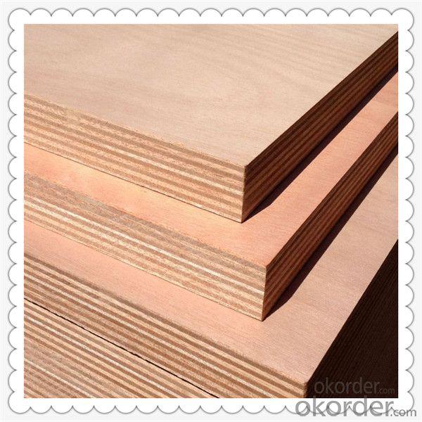 White Color Veneered Okoume Material Marine Plywood
