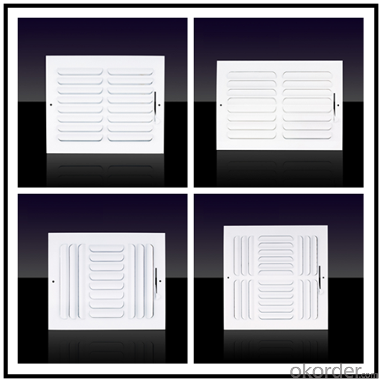 Square air Vent Diffusers for Air Conditioning