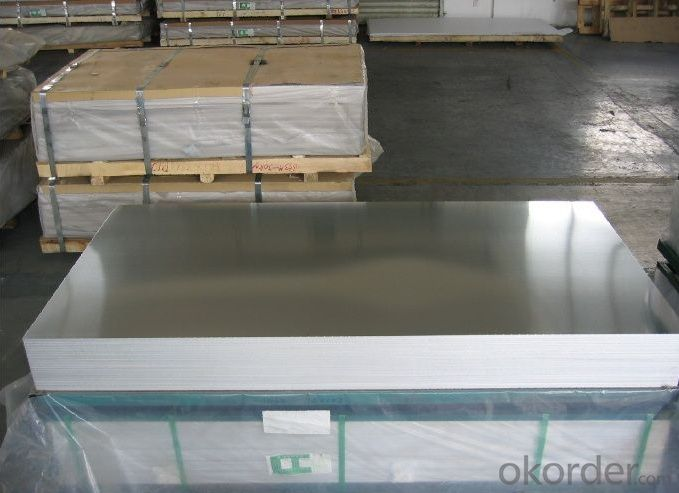 1000 3000 5000 Series Cast Rolled Hot Rolled Mill Finish Aluminum Sheet